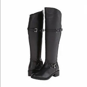 NEW Seychelles Sculpture Tall Boots Double Buckle